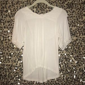 delicate lacey shirt